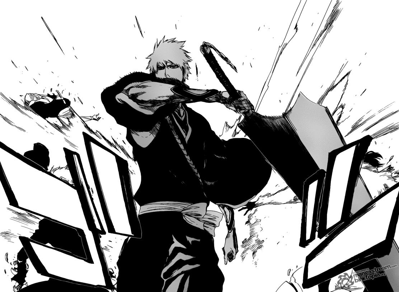 Ichigo Attack!! Bleach 463