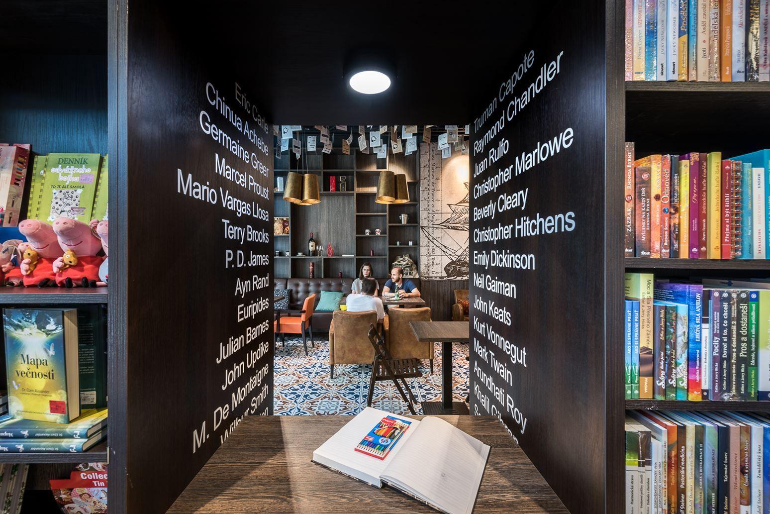 Panta Rhei Caf Dias Bookstore Cafe Picture Gallery Apt  # Bibliotheque Placo Design