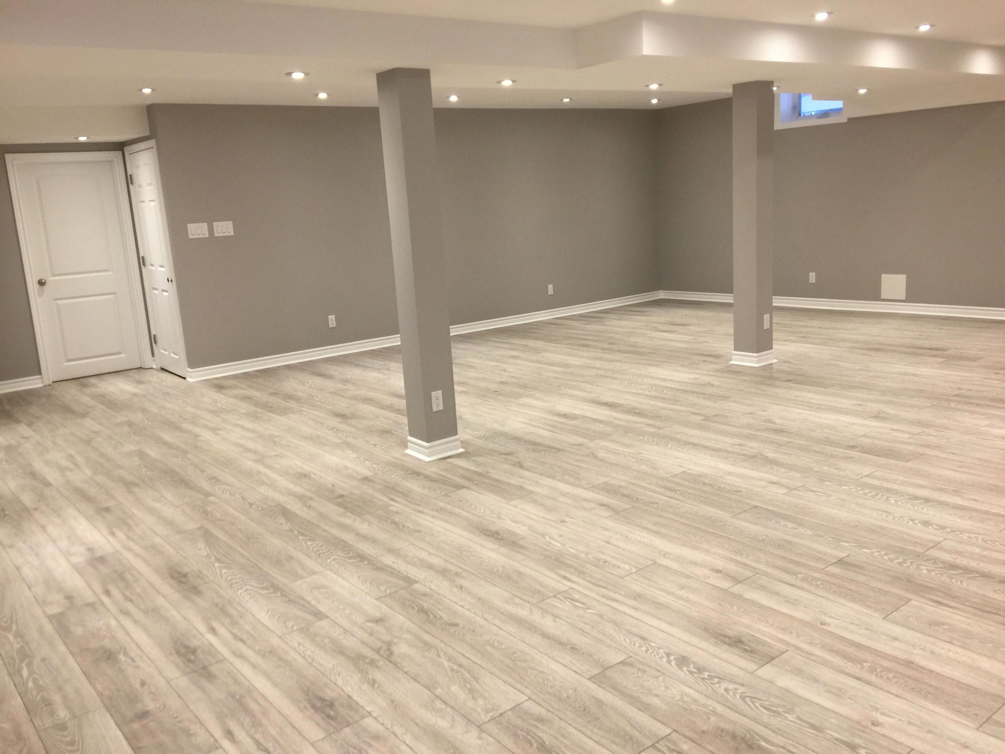 For more comfortable floor covering install some vinyl