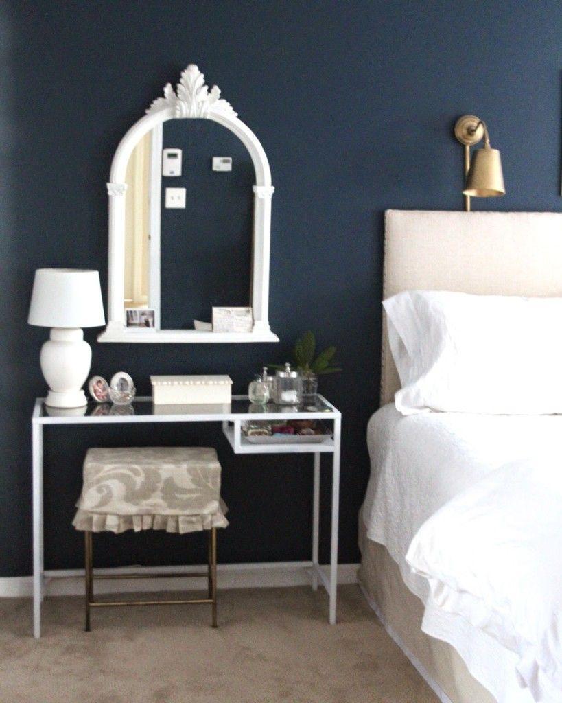 Ikea Desk As A Vanity Table | Vanity Tables, Ikea Desk And Vanities