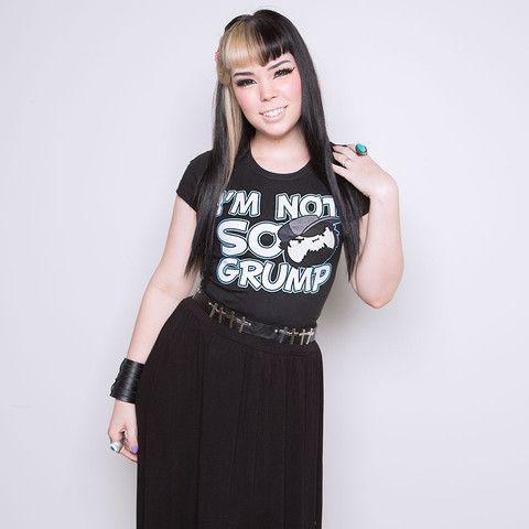 Game Grumps - I'm Not So Grump Women's Tee - Black | Game Grumps ...