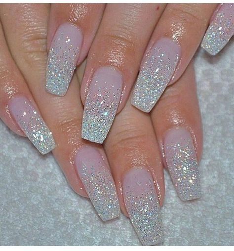 Make Into Stiletto Nails And Add A Rhinestone At The Bottom Middle Pink Acrylic Nails Nail Designs Glitter Ombre Gel Nails