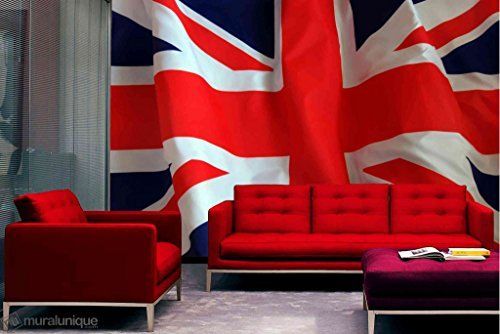 Wall Mural Photo Union Jack 12' x 8' (3,66m x 2,44m), Dry Strippable, Removable, Reusable, Washable, Easy to hang for a seamless look. Unique Mural http://www.amazon.co.uk/dp/B00NS078C2/ref=cm_sw_r_pi_dp_Dyttvb0FZKGDS