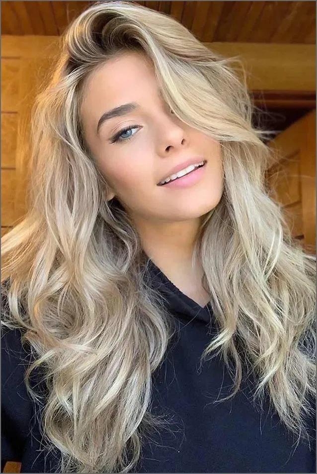 lång page blond