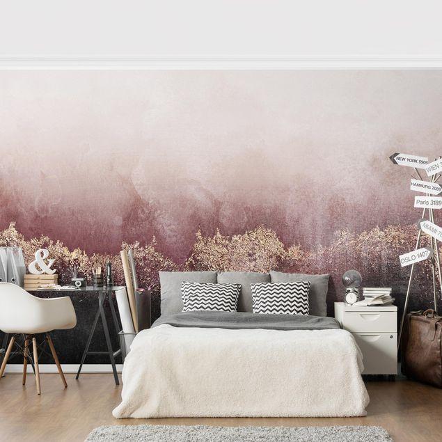 Selbstklebende Tapete Rose Gold In 2020 Selbstklebende Tapete Wande Streichen Wand Streichen Ideen Muster