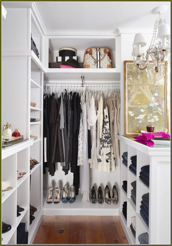 10 Small U0026 Stylish Walk In Closet Design Ideas   Revedecor