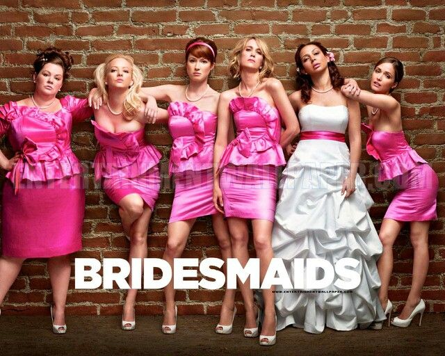 Bridesmaids Movie Pose Can We Do This Bridesmaids Movie Wedding Movies Bridesmaid Poses