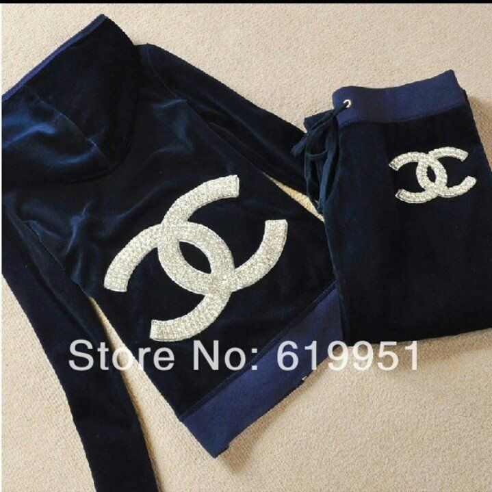 Chanel Tracksuit Clothes Fashion Comfy Pants Chanel