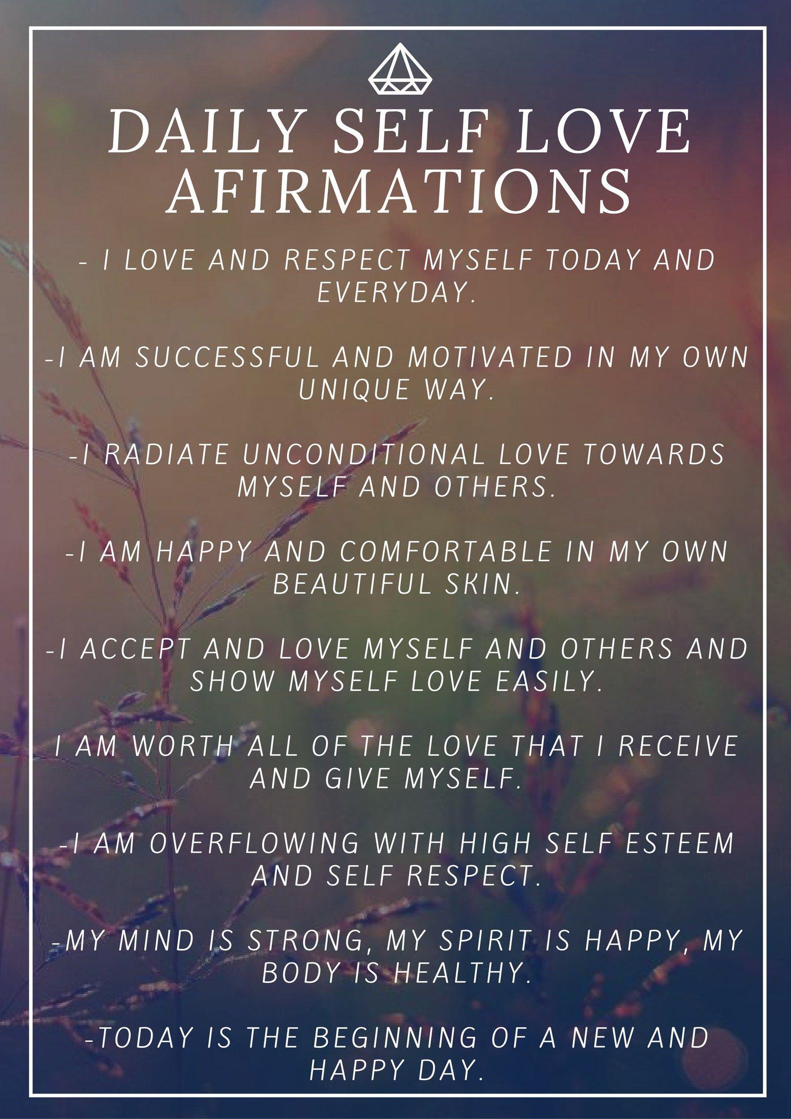 Your Fall Self Love List