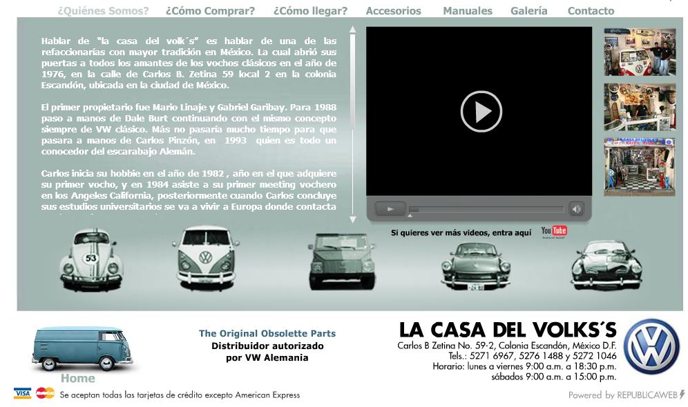 La Casa Del Volks La Mejor Refaccionaraia De Vw Antiguos En Mexico Refaccionarias Accesorios Para Vocho Vw Vintage