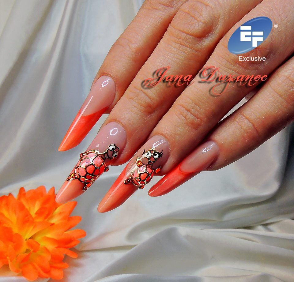 Pin by Yeimi Prettyfit on Acrilic nails | Pinterest | Funky nail art ...