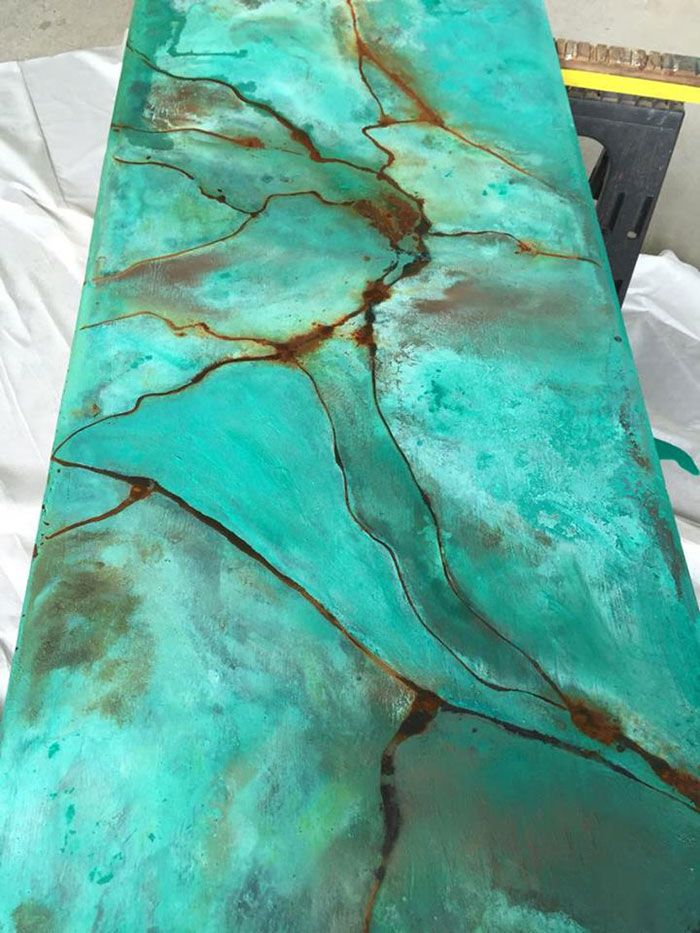 Iron Reactive Paint Patinating With Rust Activator Metal