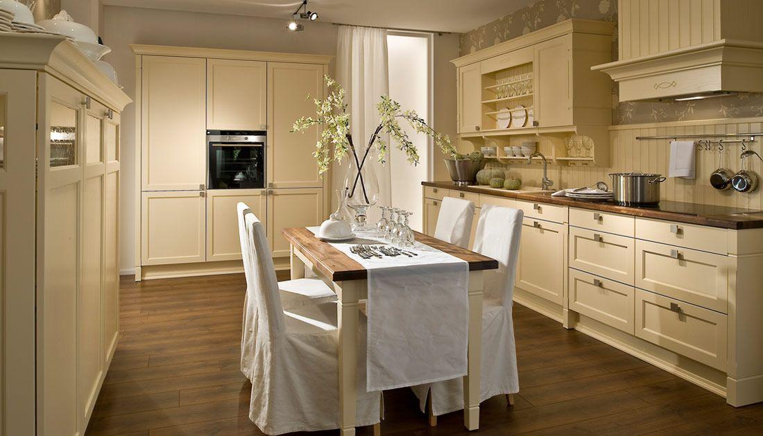 Die schönsten Landhaus-Küchen - unsere Küchen für Romantiker - Die Schönsten Küchen