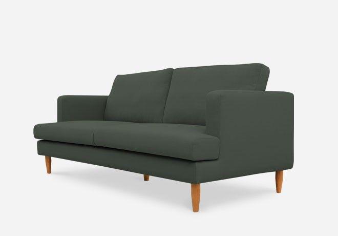 Tana Sofa Charcoal Living Room Sofa 3 Seater Sofa Love Seat