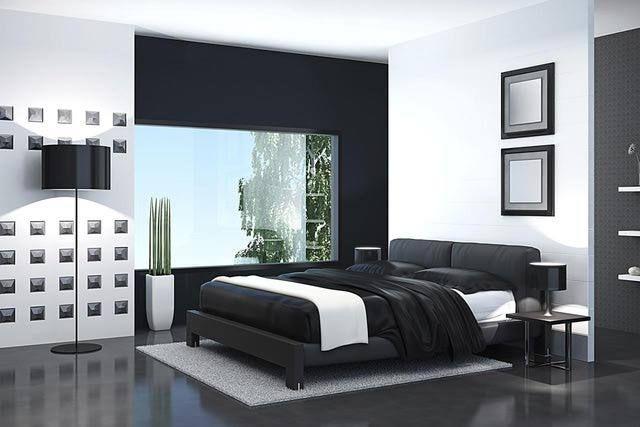 dormitorios en blanco y negro - Buscar con Google | Interiores ...