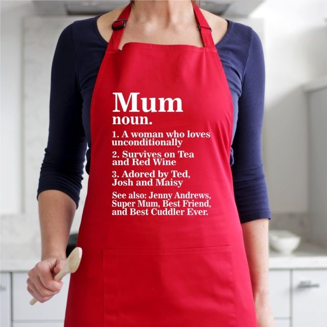 Custom Apron featuring the name MARIE in photos of actual signs; Personalised aprons; Cooking aprons; Kitchen aprons; Chef aprons