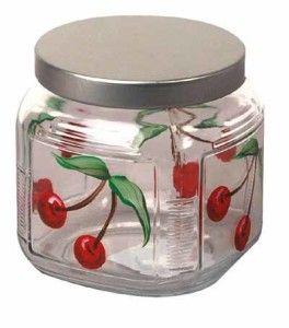 CherryPaintedGlassJar – HolidayIdeasforGifts .