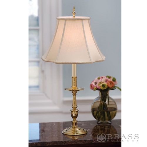 Brass Table Lamps For Living Room: Furniture & Accessories - Living Room