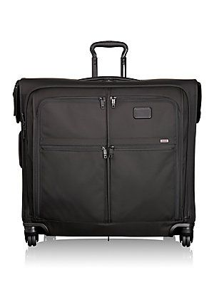 Tumi Alpha 2 Four-Wheeled Extended Trip Garment Bag - Black
