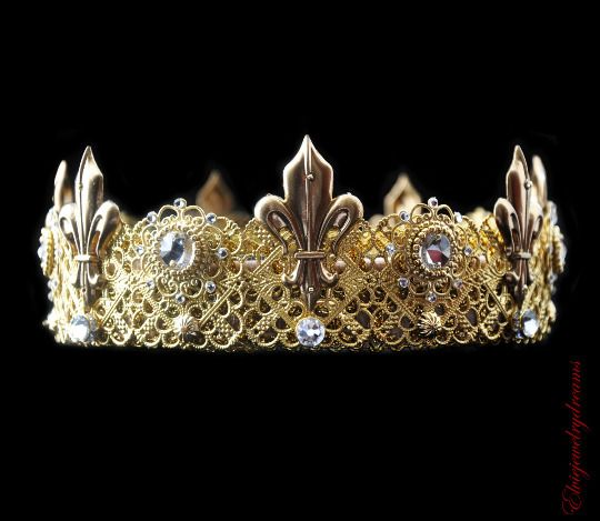 boy birthday king crown