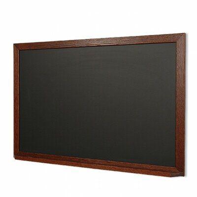 New York Blackboard Landscape with Ledge Magnetic Chalkboard