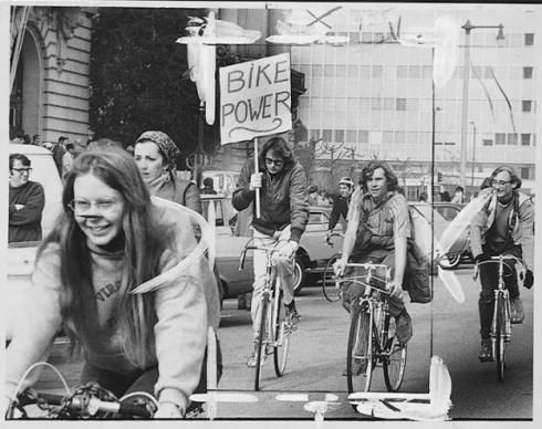 #bike #power. from #SF Chronicle #vintage