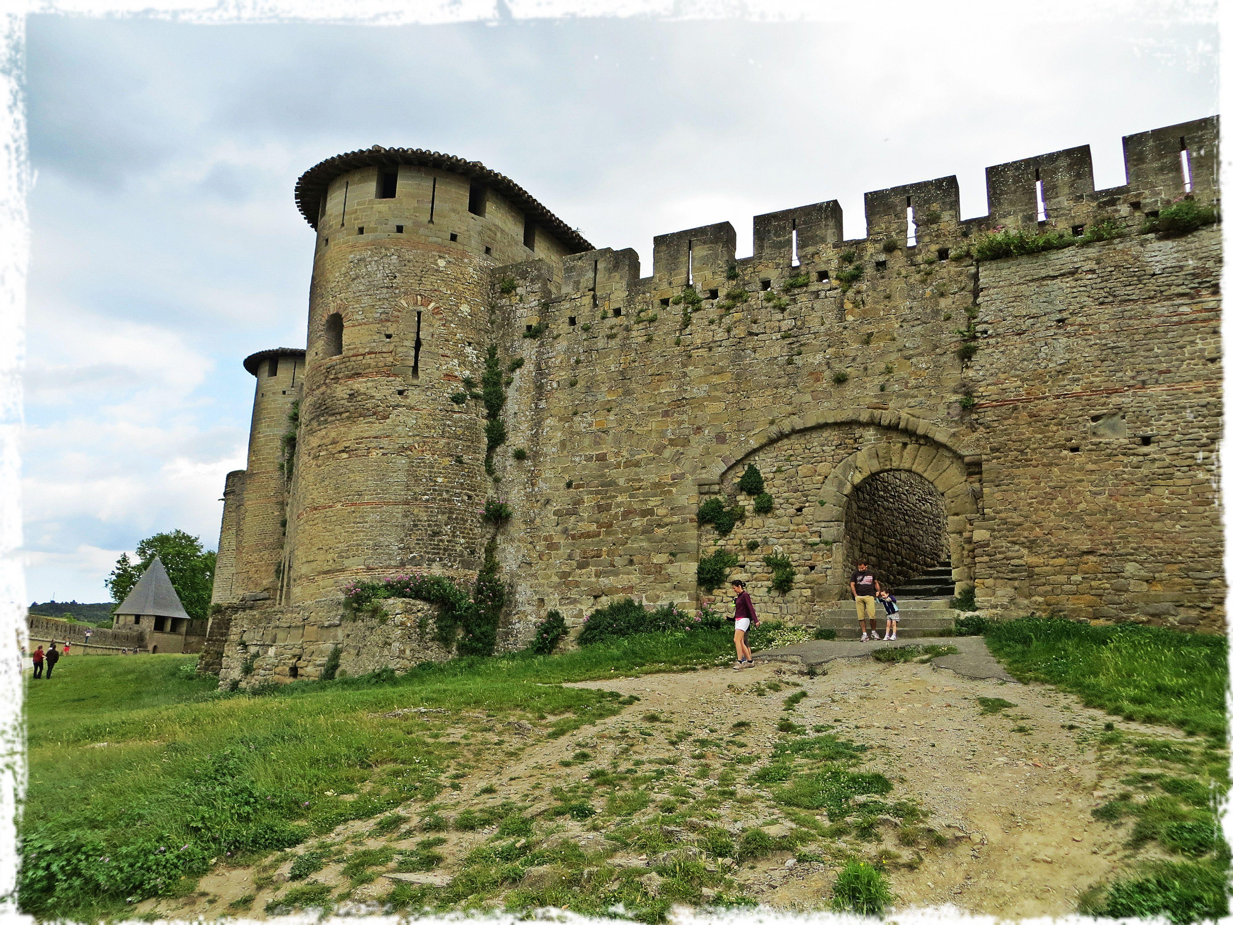 Citadelle Carcassonne La cité de Carcassonne