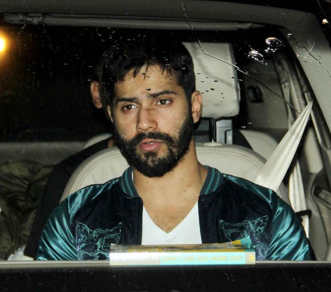 Varun Dhawan partying in Bandra. #Style #Bollywood #Fashion #Handsome