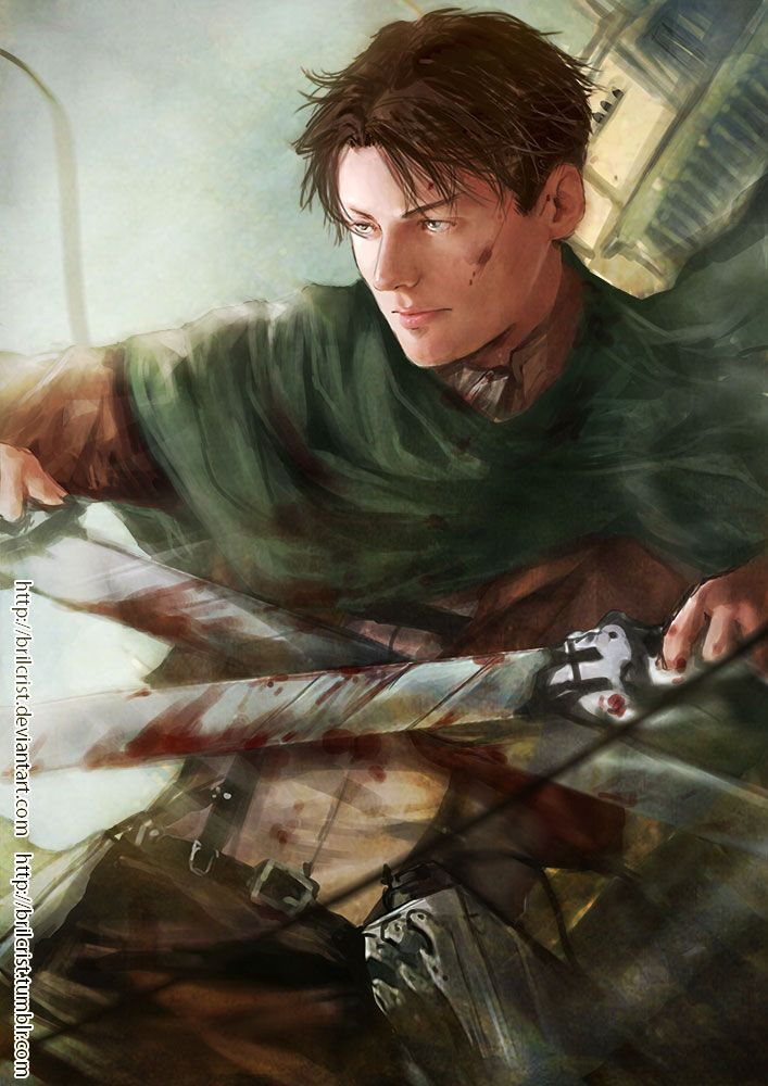Lance Corporal Levi by Brilcrist on DeviantArt | Attack on titan