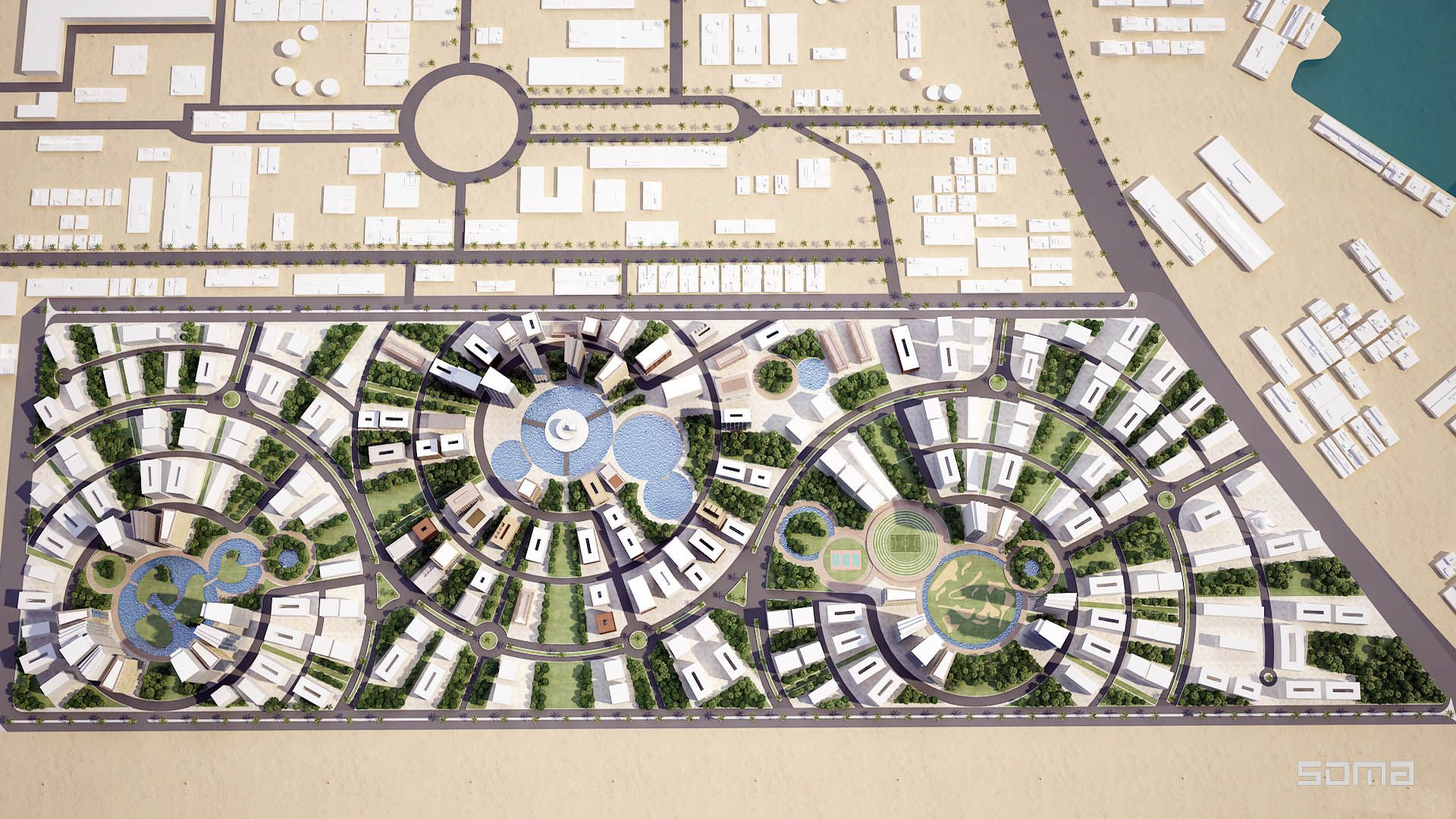 Dubai Master Plan Urban Design Google Search Urban Planning Pinterest Master Plan Urban