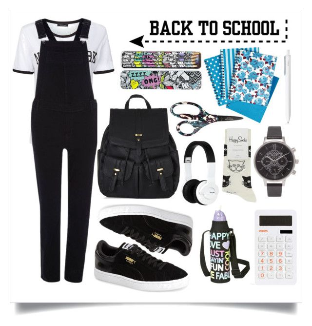 """Back to School: New Backpack"" by alaria ❤ liked on Polyvore"