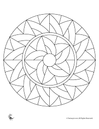 Image Result For Easy Stained Glass Patterns Free Beginners Stainedglasskids Mandala Coloring Pages Mandalas For Kids Mandala Coloring
