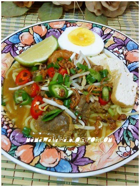 Dari Dapur Madihaa Mee Rebus Cik Ani Bonda Chef Wan