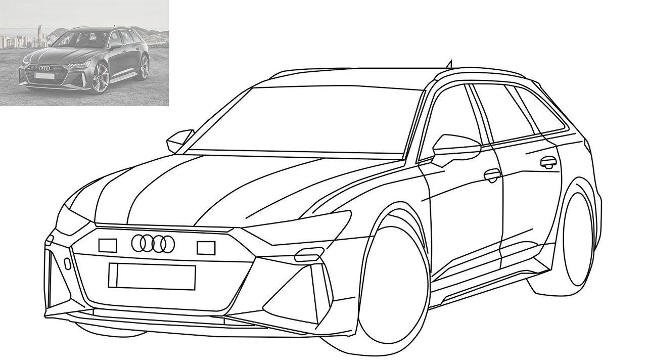 Audi Rs6 Avant 2020 Audi Rs6 Audi Super Cars