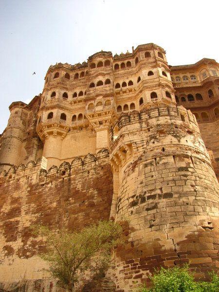 Mehrangarh Fort, Rajastan, India