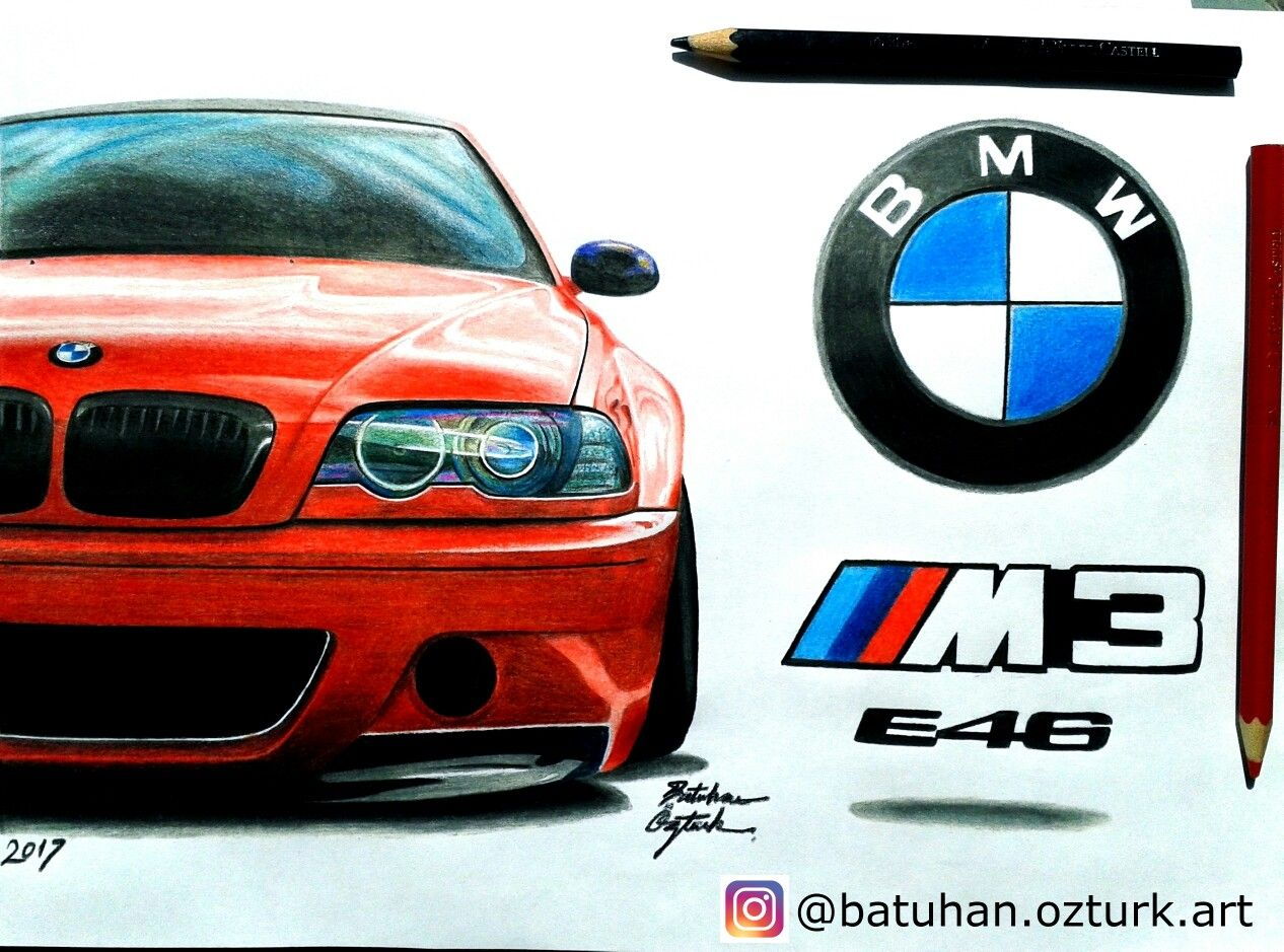 Bmw Mpower Bmwm3 M3 E46 E38 E30 E90 M4 M3series Fiat Mercedes Honda Civic Stance Airstance Karakalem Astonmartin Ciz Bmw M3 Bmw Aston Martin