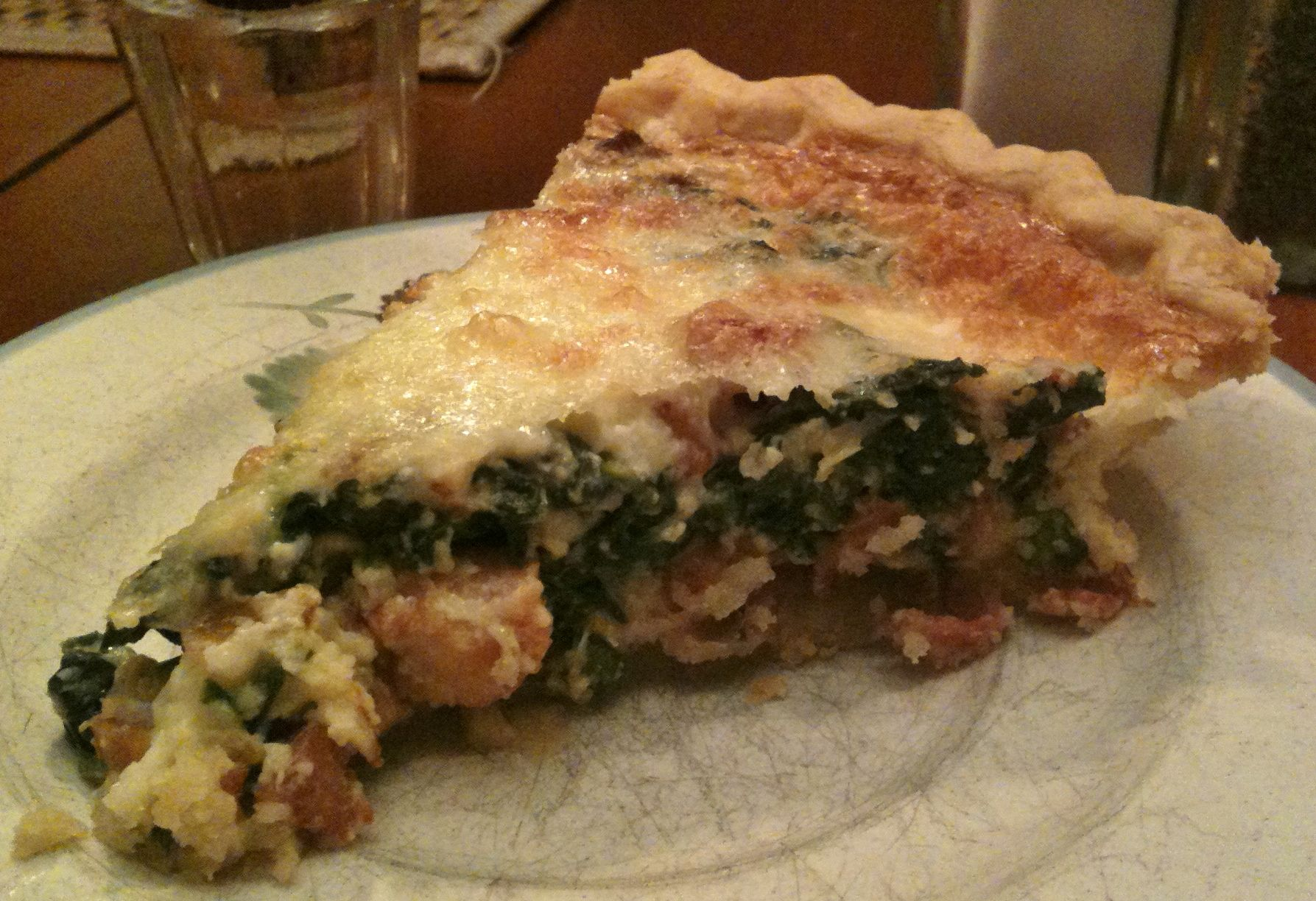 lighten up ham and spinach quiche spinach quiche quiche and