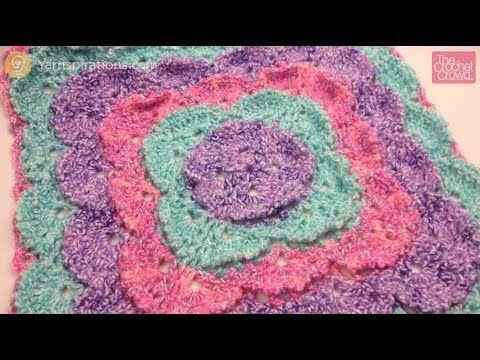 Fluffy Meringue Stitch Blanket - Patterns | Yarnspirations | Crochet ...