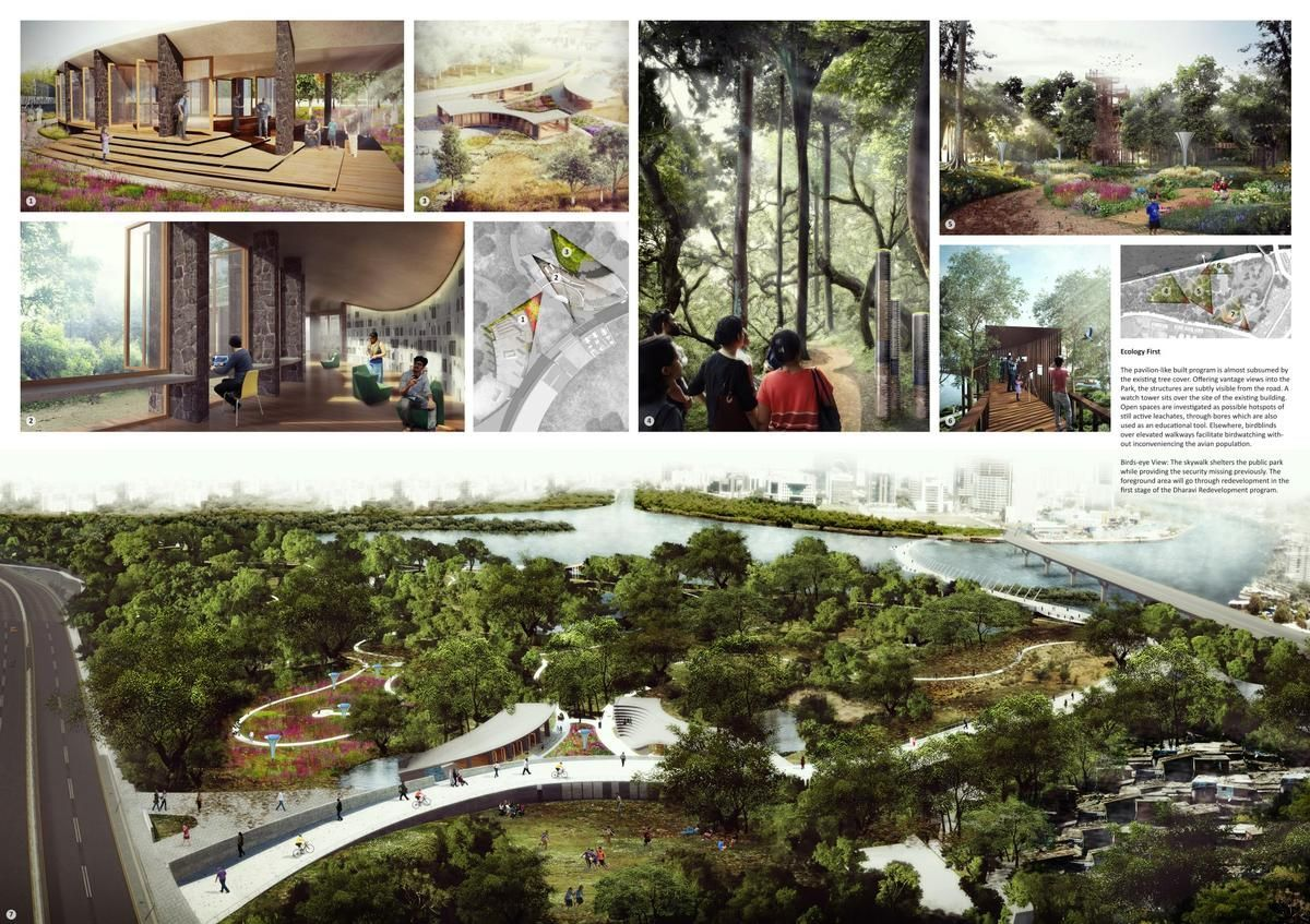 The Masterplan Will Substantially Expand The Existing Forest Like Environment And Boost Its Potential As City Parks Design Nature Education Landscaping Atlanta