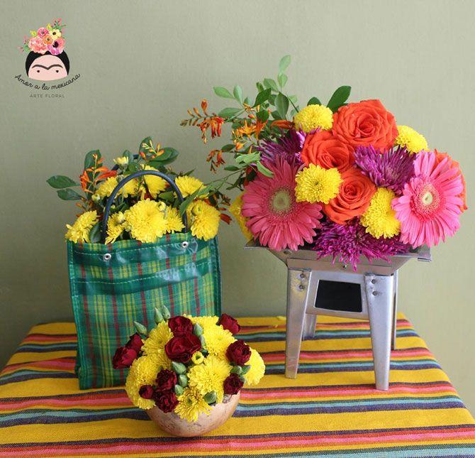 Arreglos Florales Boda Mexicanos Buscar Con Google