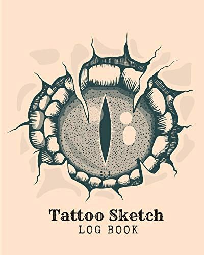 Photo of Tattoo Sketch Log Book: A Sketch Book for Professional and Amateur Tattooists, Students or Anyone Who Loves Tattoos, is Thinking of Getting a Tattoo, or Just Wants to Practice Tattoo Ideas – Paperback
