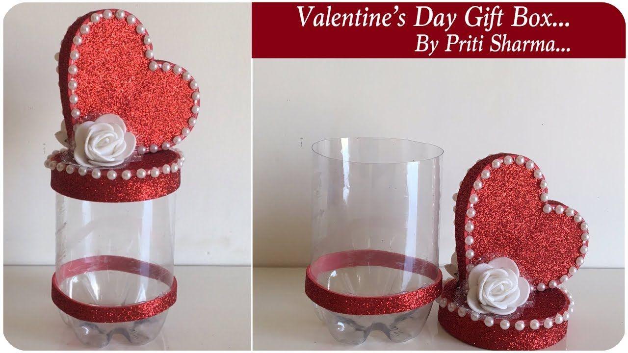 Heart Shape Love Gift Box From Waste Plastic Bottle Valentine S