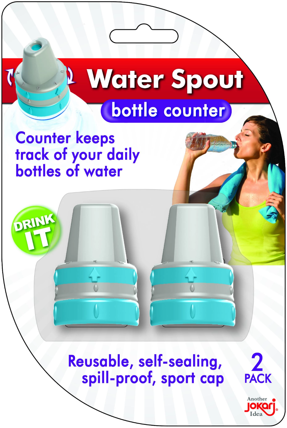 Water Spout, 2 pack Water spout, Water bottle caps
