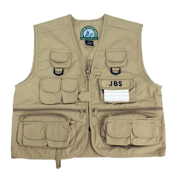 Master Sportsman Childrens Fishing Vest Kids Jm Cremps Adventure