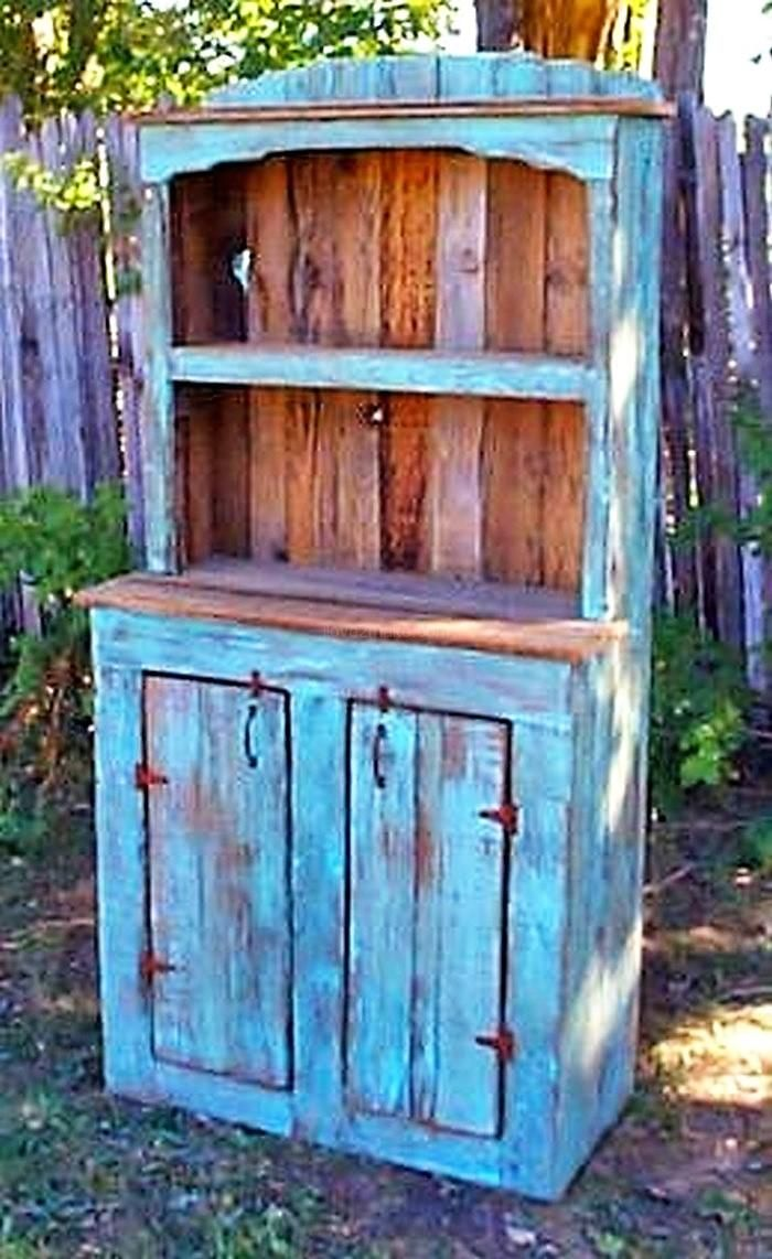 Always Trendy Pallet Wooden hutches Projects | Pallets, Pallet ...