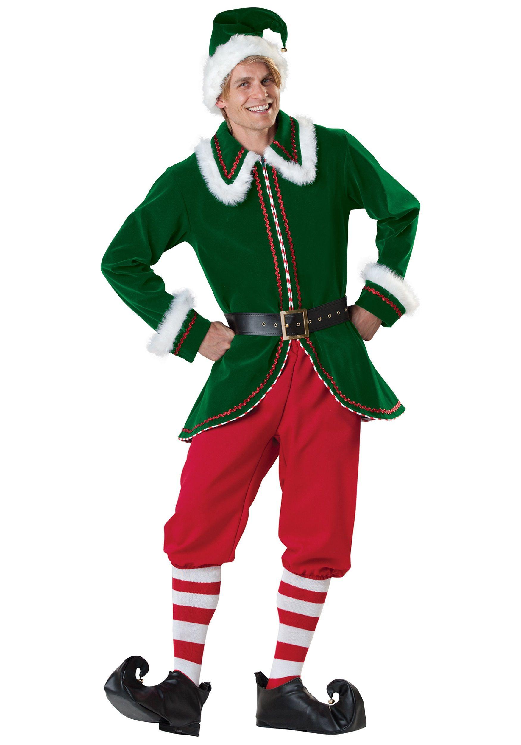 efe35d475 Disfraz de duende de la Navidad.