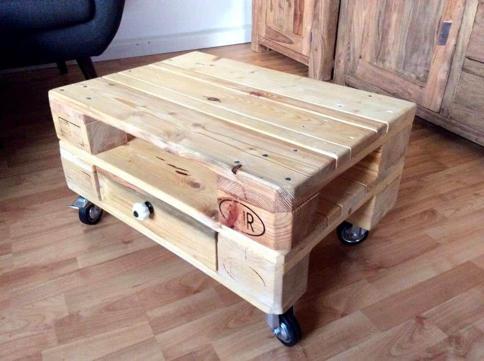 Mini Pallet Coffee Table On Wheels Coffee Table With Wheels Coffee Table Pallet Furniture Outdoor