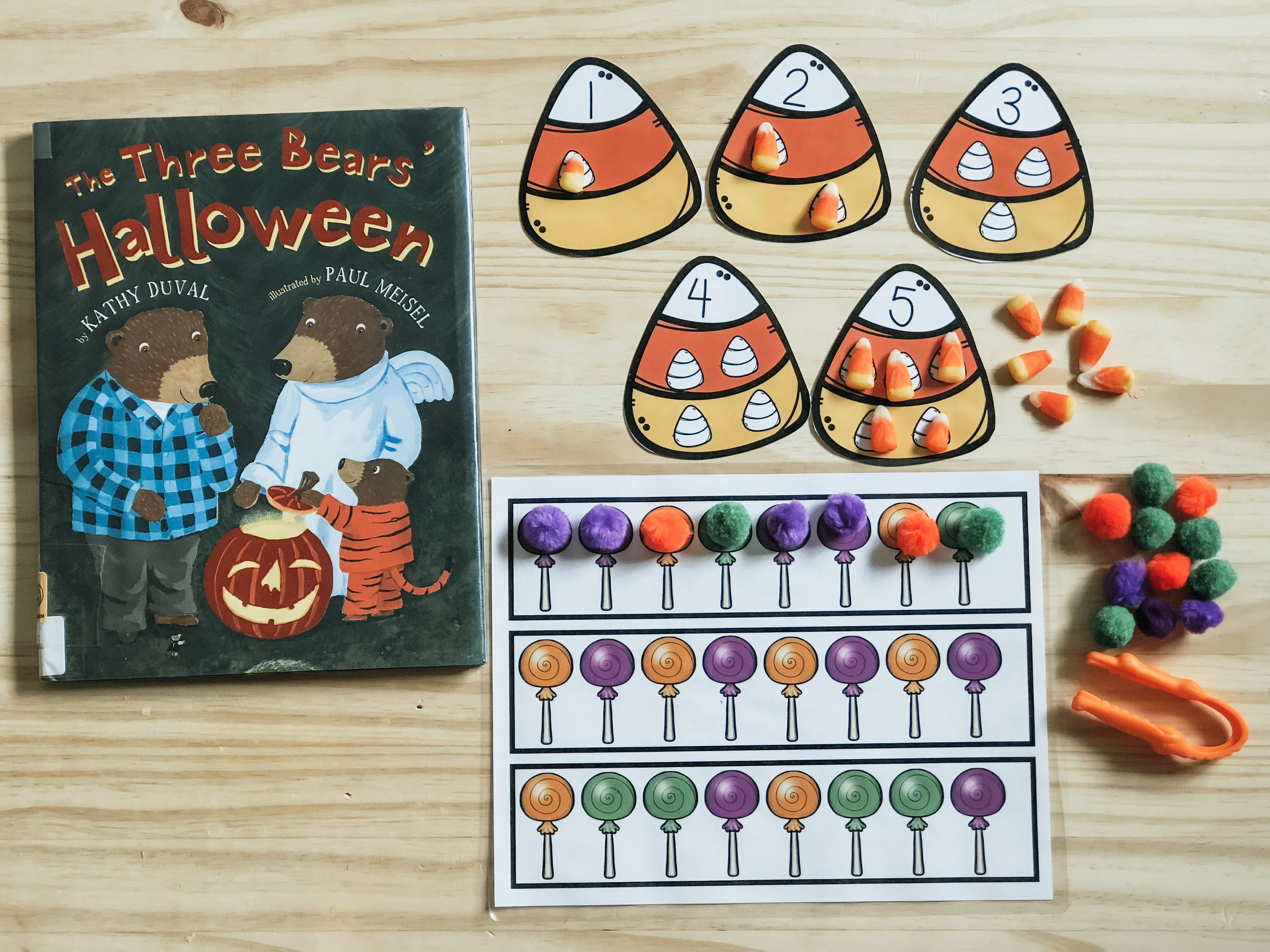 Halloween Tot School   Lesson Plans And Activity Pack By