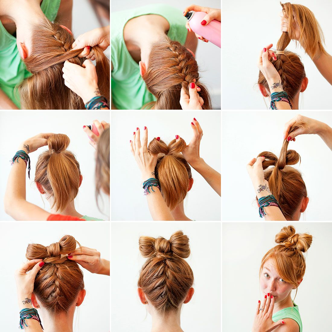 Halloween Hairstyle For Kids With Halloween Rings Embellishments Halloween Hair Kids Hairstyles Short Hair For Kids