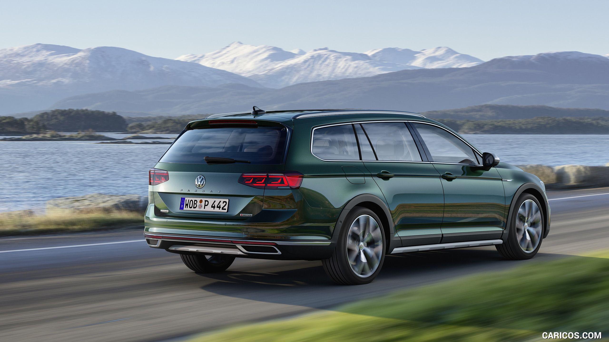 2020 Volkswagen Passat Alltrack Eu Spec Rear Three Quarter Hd Volkswagen Passat Volkswagen Vw Cars